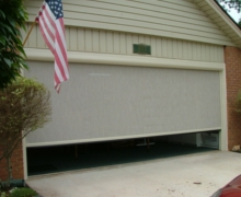 Marathon Custom Garage Rolling Screen Doors